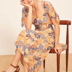 Reformation Meredith maxi dress sz 0 (g15)